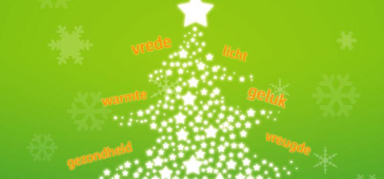 Gezegende kerstdagen en een gelukkig nieuwjaar!