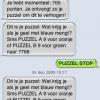 7766 Puzzel berichten op Iphone