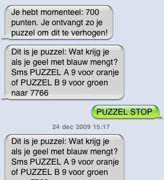 SMS-diensten (zoals 7766) aanpakken met wetgeving