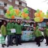 Campagneteam bij de CDA Fiat 500