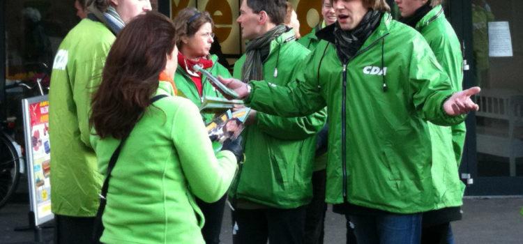 Balkenende IV, Campagne, Familie, doopdienst en tienerdienst