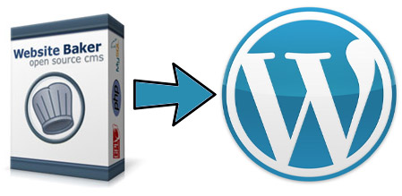 Import Website Baker into WordPress