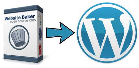 Import Website Baker into WordPress