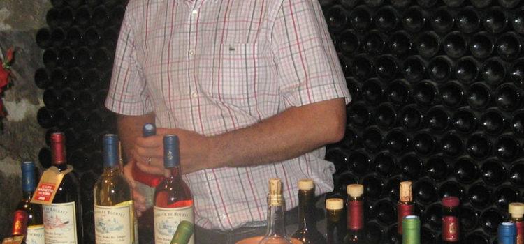Wijnproeverij bij Domaine de Bournet