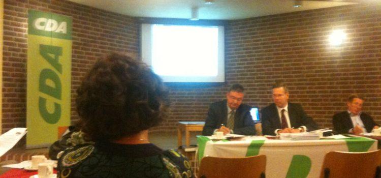 Algemene ledenvergadering CDA Huizen