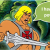 """Net zoals He-Man vroeger zei """"I have the power"""", ligt het ook in jouw handen om veilig met gebruikersnamen en wachtwoorden om te gaan."""