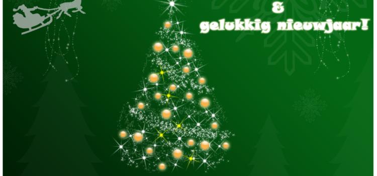 Prettige kerstdagen en een goed 2012!
