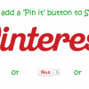 Pinterest - How to add the pin it button to Sharebar