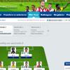 Voorbeeld nieuwe layout Profcoach 2012 met mijn opstelling voor speelronde 2