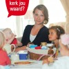 De Actie Kerkbalans 2013 poster om de campagne de ondersteunen.