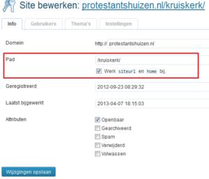 WordPress Netwerkbeheer