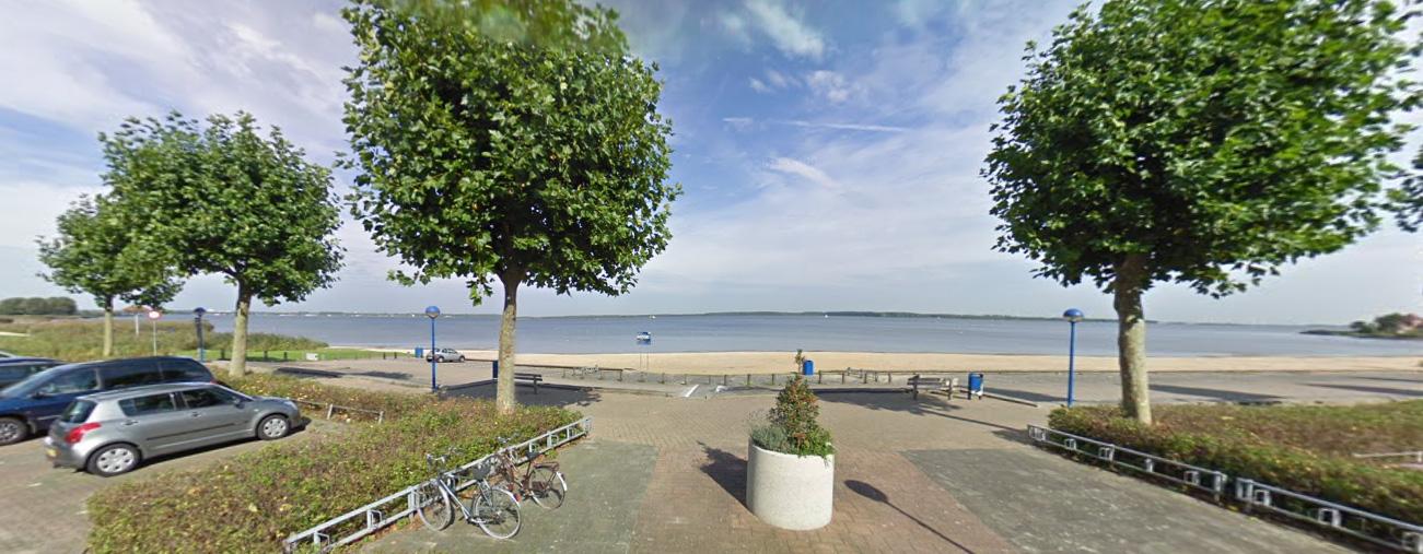 Geen windmolens langs het Gooimeer