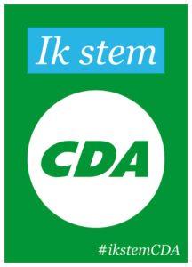 Ik stem CDA, jij  toch ook?