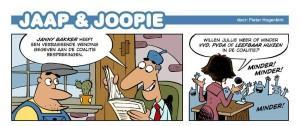 Bovenstaande cartoon van Pieter Hogenbirk (cARToony) stond in het Nieuwsblad van Huizen. bron: www.cartoony.nl