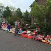 Op de hoek Gooilandweg/Meentweg hadden wij onze spullen uitgestald staan.