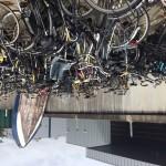Veel gevonden fietsen in Huizen die niet worden opgehaald.