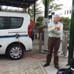 Uitleg over de auto's van de gemeente die op aardgas rijden.