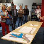 Uitleg over de Nieuw Bussumerweg en fietsstraat