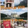 Kleine college met foto's van de vakantie in Frankrijk
