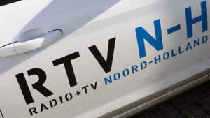 Details van de RTV NH auto waar we bij stonden voor het interview.