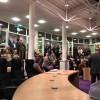 Veel toeschouwers tijdens de nieuwjaarstoespraak van Fons Hertog.