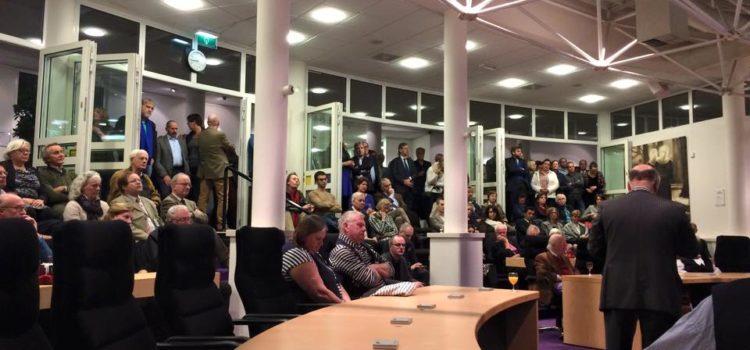 Nieuwjaarsreceptie gemeente Huizen – Gezellig bijpraten