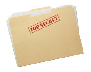 Soms is het nodig bepaalde informatie 'geheim' te houden.