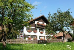 Zicht op de vakantiewoning van familie Böck waar wij verbleven.