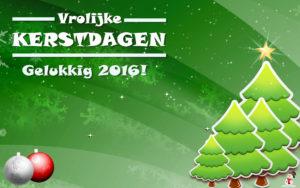 Kerstkaart 2016: Vrolijke feestdagen en een gelukkig2016!