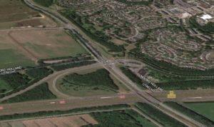 In alle situatie (Merk-tracé of Meent-tracé) is dit kruispunt een bottleneck.