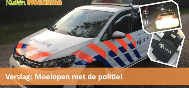 Meelopen met de politie