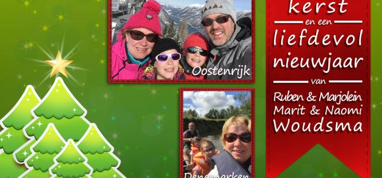 Gezegende kerst en een liefdevol nieuwjaar