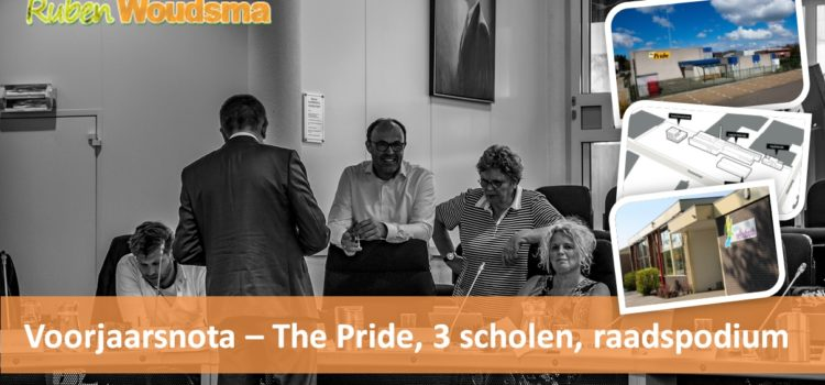 Voorjaarsnota 2017 – The Pride, huisvesting scholen, raadspodium en meer