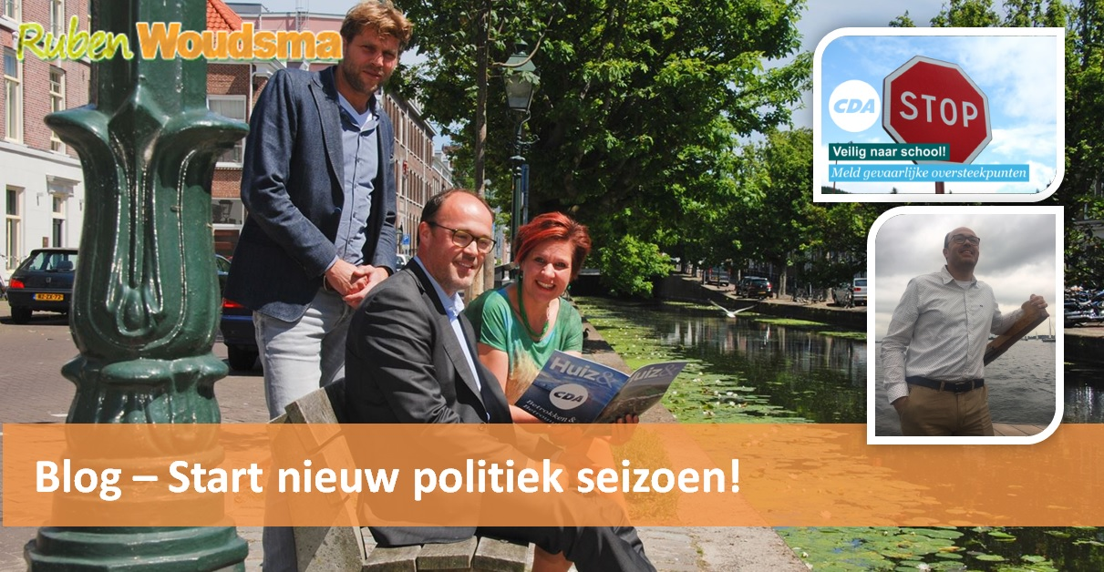 Nieuwe politiek seizoen is gestart!