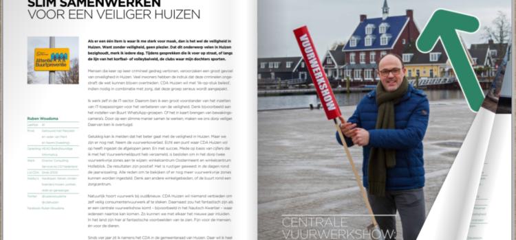 Lancering CDA Huiz& magazine