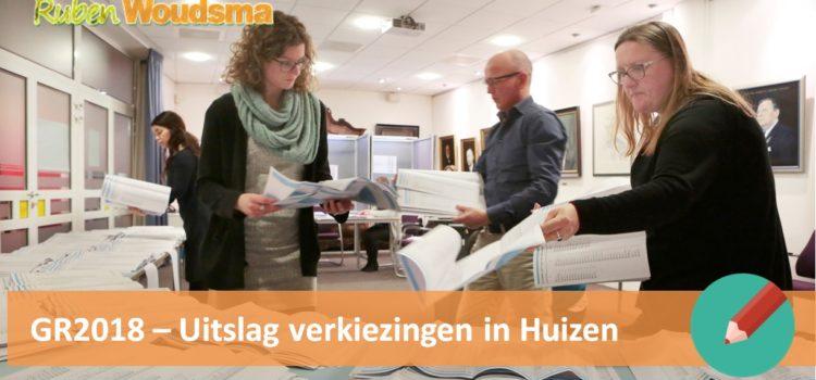 Uitslag gemeenteraadsverkiezingen Huizen: VVD winnaar, CDA verliezer