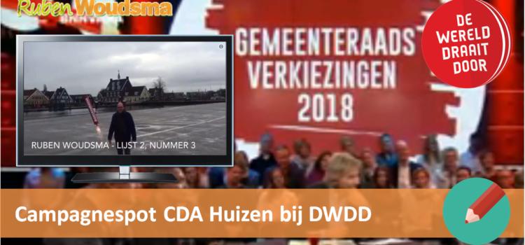 Campagnespot CDA Huizen bij De Wereld Draait Door!