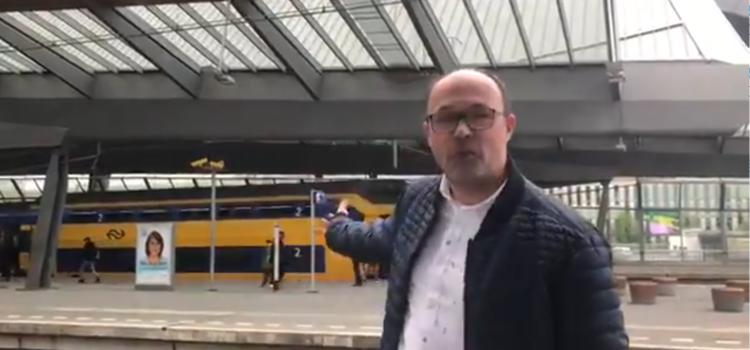 Een treinstation in Huizen?
